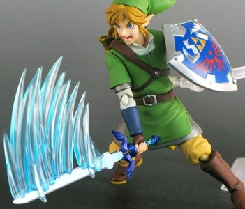 The Legend of Zelda Skyward Sword figma Link (2 heads)