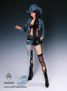 DollZone Linlan Tan Skin BJD 63 cm