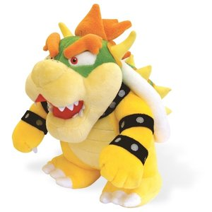 Super Mario Bros series Bowser plush - Licensed by Sanei Nintendo