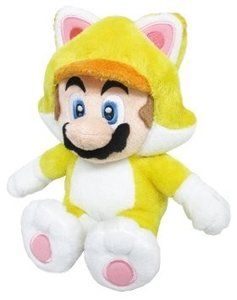 Super Mario Bros - Cat Mario 25 cm plush knuffel - Licensed by Nintendo Sanei
