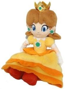 Super Mario Bros Princess Daisy Plush Knuffel - Licensed by Nintendo Sanei