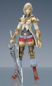 Final Fantasy XII Play Arts figure Ashe