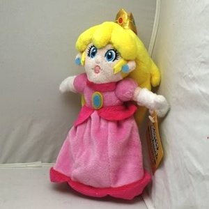 Princess Peach Plush knuffel 22 cm Super Mario Bros