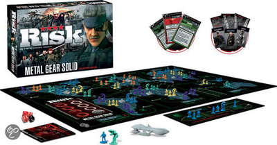 Metal Gear Solid Collectors Edition - RISK - bordspel