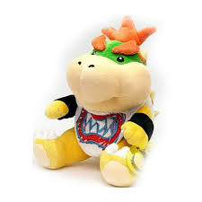 Super Mario - Baby Bowser Plush - 17 CM - SANEI - Licensed by Nintendo