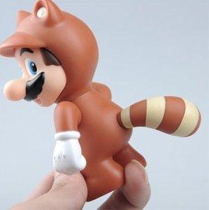 Racoon Mario figure (Tanooki Mario) Wasbeer Mario