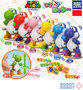 Super Mario Bros clockwork Yoshi Mini Figure x6 pcs set TAKARA Nintendo