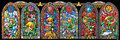 Legend of Zelda Mini Poster Pack Stained Glass 30 x 90 cm