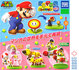 4 x Super Mario Bros Solid Mario Collection Vol.1 mini figure with Stand Set TAKARA_8