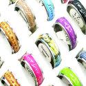20-x-kwaliteit-ringen-met-tekst-(mix-ontwerpen)-roestvrij-staal-PARTIJHANDEL