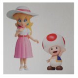 Ansichtkaart Twila - No. 3  - Prinses Peach & Toad_
