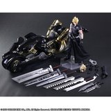 Final Fantasy VII Advent Children Play Arts Kai Action Figure Cloud Strife & Fenrir 28 cm_
