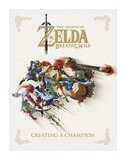 Legend of Zelda Breath of the Wild Art Book Creating A Champion_