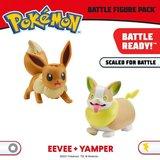 Pokémon Battle Figure 5-8 cm - Eevee and Yamper_