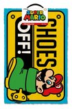 Super Mario doormat - Shoes off_