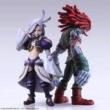 Final Fantasy IX Bring Arts Action Figures Kuja & Amarant Coral 16 - 18 cm_