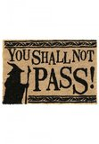 Lord of the Rings Doormat You Shall Not Pass 40 x 60 cm_