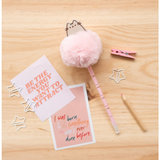 Pusheen pompom balpen - Sweet and simple_