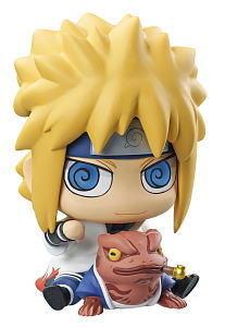 Naruto - Chimi mega soft vinyl figure Megahouse - Minato