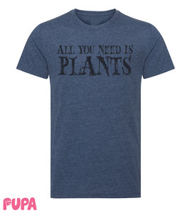 All you need is plants - Men's t-shirt - marl