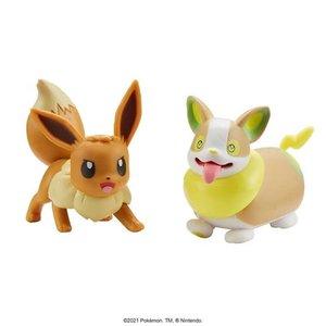Pokémon Battle Figure 5-8 cm - Eevee and Yamper