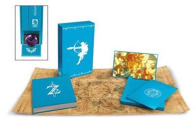 Legend of Zelda Breath of the Wild Art Book Creating A Champion Hero's Edition