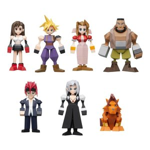 Final Fantasy VII Polygon Figures 4 - 6 cm