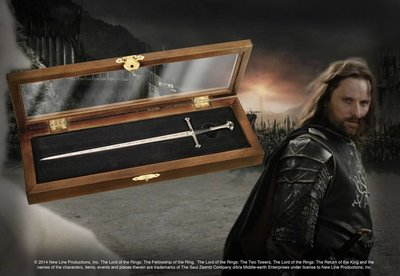 Lord of the Rings Brief Opener Anduril