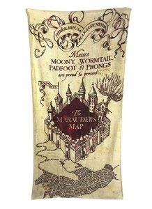 Harry Potter handdoek Marauders map 150 x 75 cm