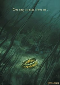 Lord of the Rings limited edition One Ring print