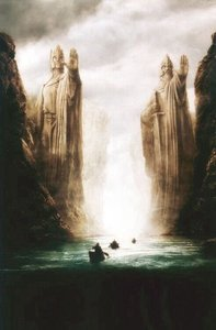 Lord of the Rings limited edition The pillars of the kings print