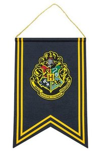 Harry Potter Wall Banner Hogwarts 30 x 44 cm