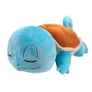 Pokemon 45 cm - slapende Squirtle pluche knuffel